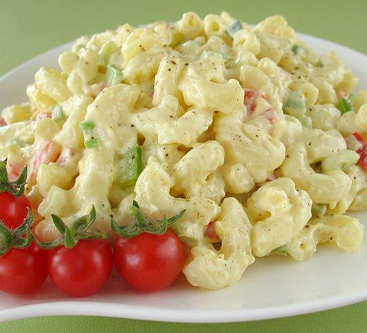 Macaroni Salad. Photo by Calee