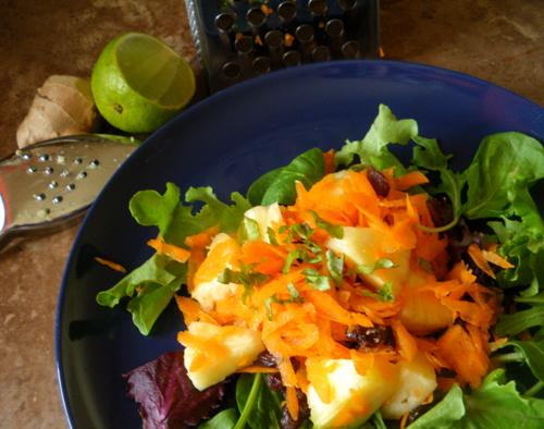 Moxie's Walking on Sunshine Salad. Photo by Bergy