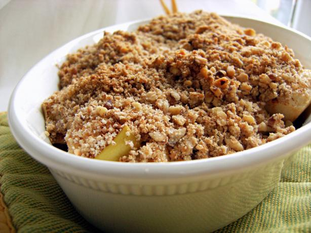 Apple Crisp. Photo by Lalaloula