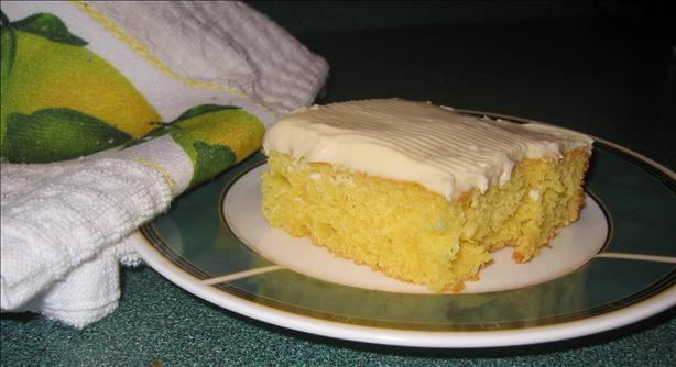 Lemon Sheet Cake. Photo by HisPixie