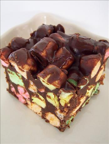 Chocolate Chip Marshmallow Squares. Photo by * Pamela *