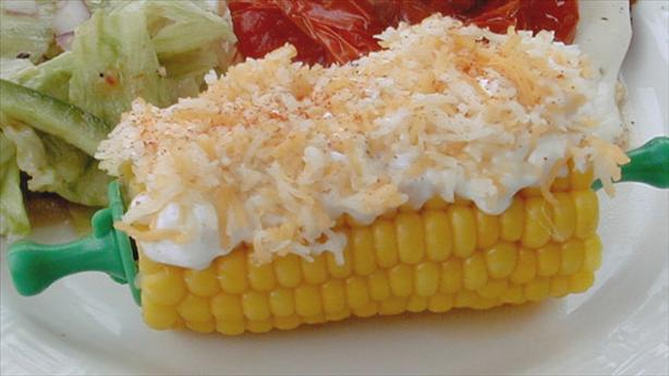 Grilled Mexican-Style Corn. Photo by ms_bold