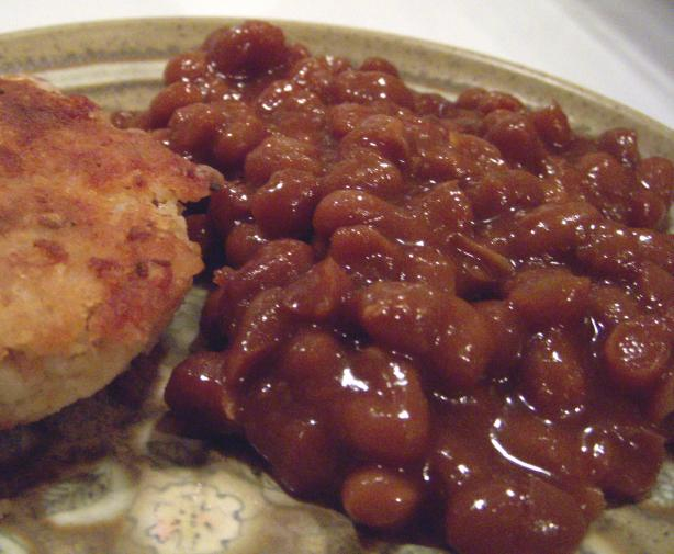 Old Fashioned Baked Beans. Photo by Elly in Canada