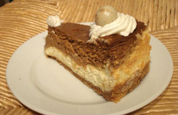 ... espresso cheesecake recipes dishmaps espresso cheesecake topped with