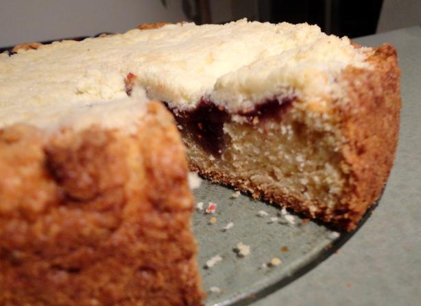 Buttercream Barbie Raspberry Cream Coffee Cake