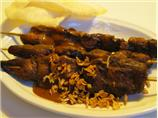 Sate  Babi (Or Ayam)