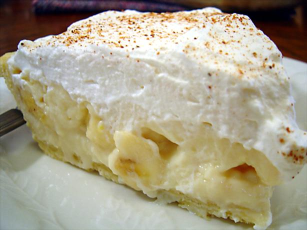 Banana Cream Pie. Photo by :(