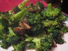Garlic-Spiked Broccoli and Mushrooms