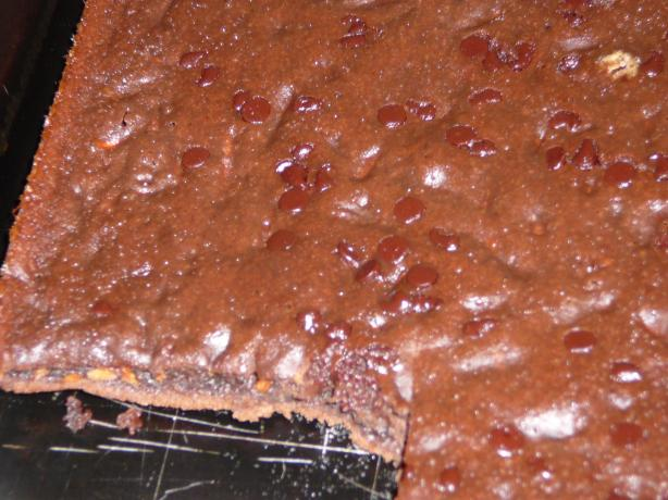 Light Carrot Cocoa Snack Cake --(Brownies). Photo by BLUE ROSE