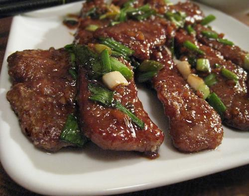 P. F. Chang's Mongolian Beef. Photo by Caroline Cooks