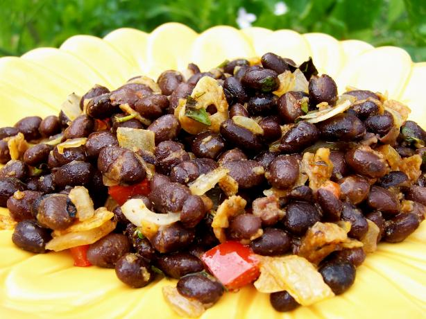 Copycat Chili&#39;s Black Beans. Photo by Rita~