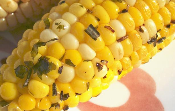 Herbed Corn on the Cob Grilled in Foil. Photo by Crafty Lady 13