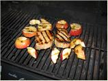 Grilled Pork and Apples