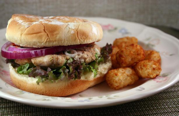 Boston Turkey Burger. Photo by SashasMommy