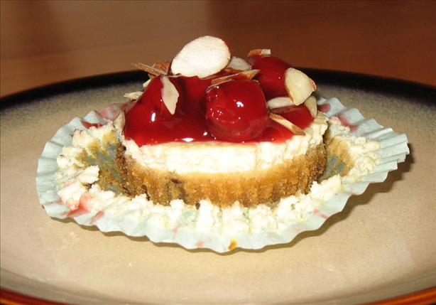 Cherry-Almond Cheesecake Cookie Cups. Photo by V.A.