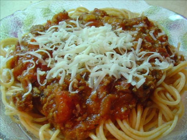 Not World Famous Spaghetti Sauce. Photo by CountryLady