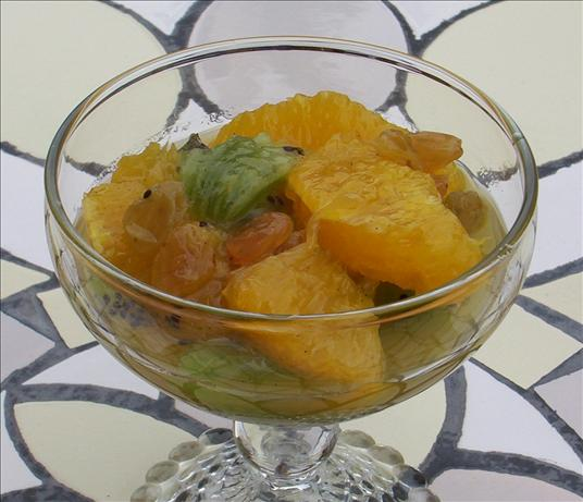 Citrus Compote With Honey and Golden Raisins. Photo by Kree