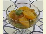 Citrus Compote With Honey and Golden Raisins