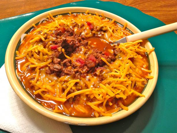 Low Carb Chili. Photo by Mr. Sandman