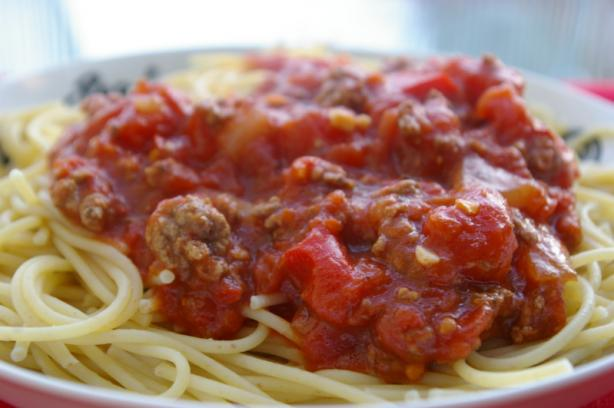 My Crock Pot Spaghetti Sauce. Photo by Redsie