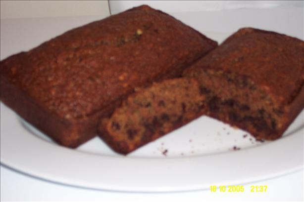 Chocolate Zucchini Bread. Photo by kzbhansen
