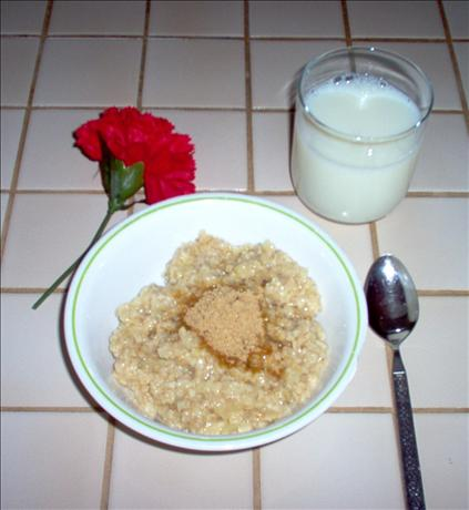 Pineapple Oatmeal. Photo by Dorel
