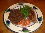 Wine-stewed Puy Lentils