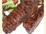 Barbecued Emu, Ostrich or Kangaroo Fillet