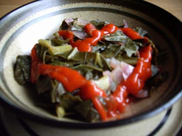 Awesome Collard Greens. Photo by Chef Saba