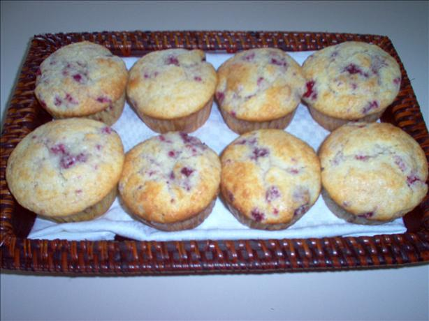 Lemon Raspberry Muffins. Photo by Dorel