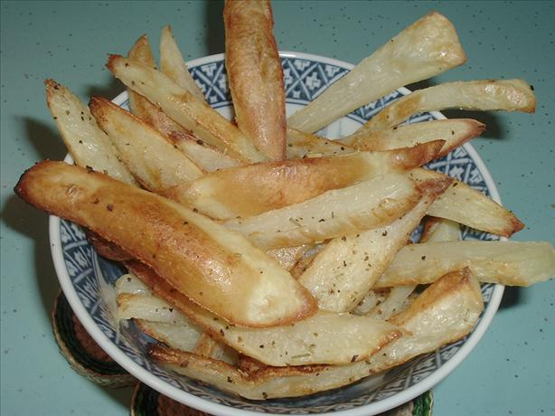 Rosemary & Garlic Oven Fries. Photo by Bergy