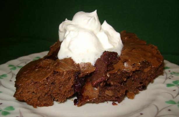 Blackberry Brownie Cobbler. Photo by Dreamgoddess