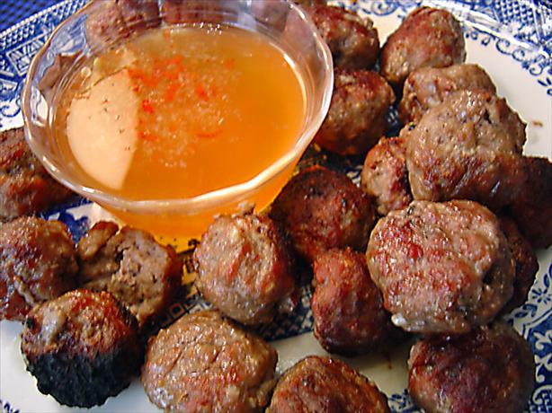 Vietnamese Meatballs. Photo by :(