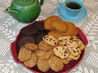 Four-Flavour Icebox Cookies. Recipe by Jenny Sanders