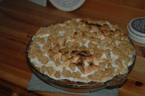 Peanut Butter Pie With Meringue Topping. Photo by thejonesgal