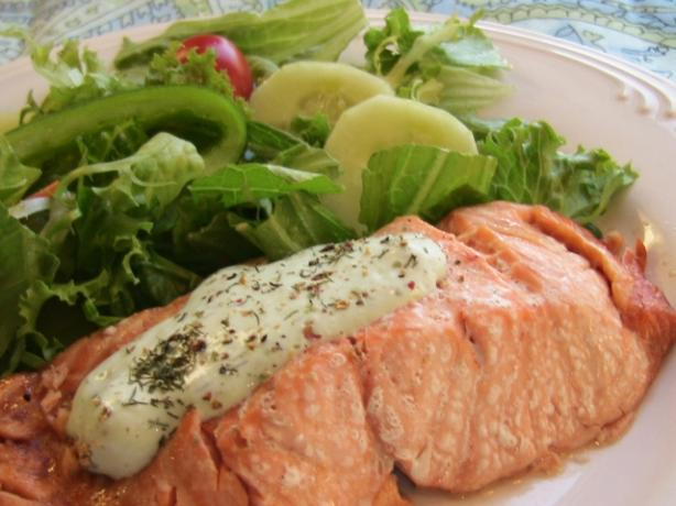 Salmon (Microwave-Cooked). Photo by BecR