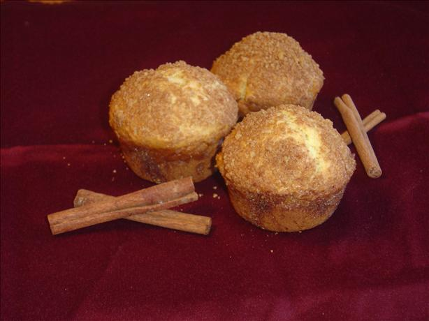 Sour Cream Cinnamon Nut Muffins. Photo by Pumpkie