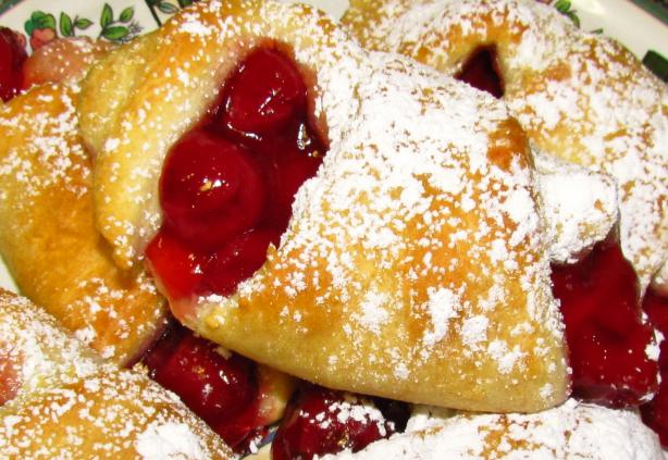 Cherry Filled Crescent Rolls. Photo by mammafishy
