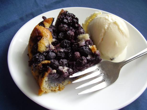 Lazy Day Blueberry Pie. Photo by NoraMarie