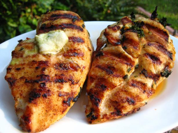 Spinach-Stuffed Chicken Breasts. Photo by gailanng