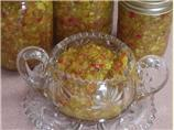 Zucchini-Pepper Relish