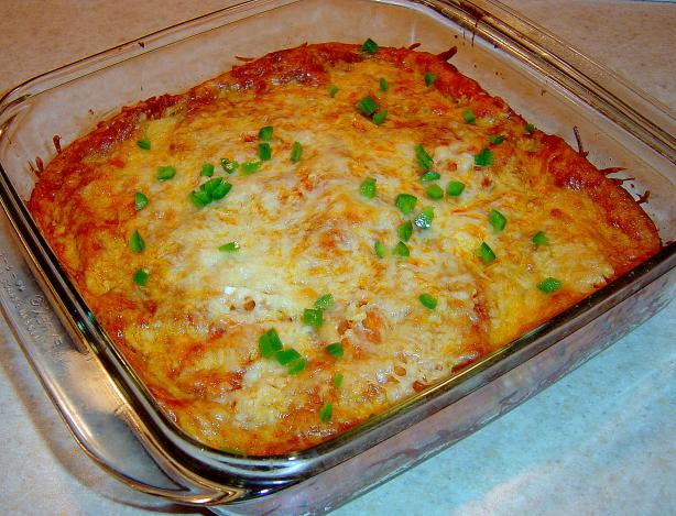 New Mexico-Style Red Chile Enchiladas. Photo by :(