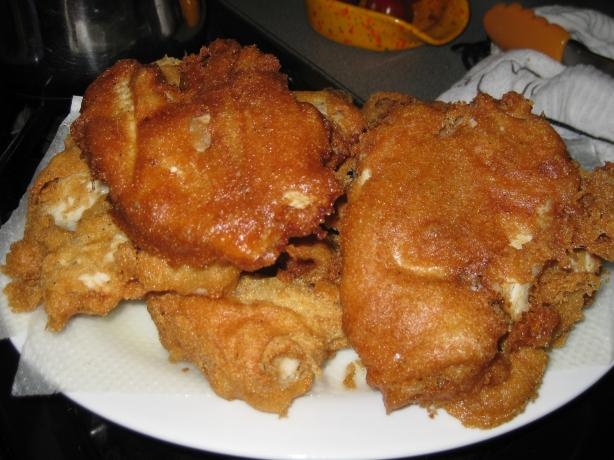 Fish beer batter recipe for Southern fish fry batter