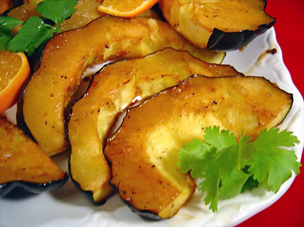 Honey Roasted Squash Rings. Photo by :(