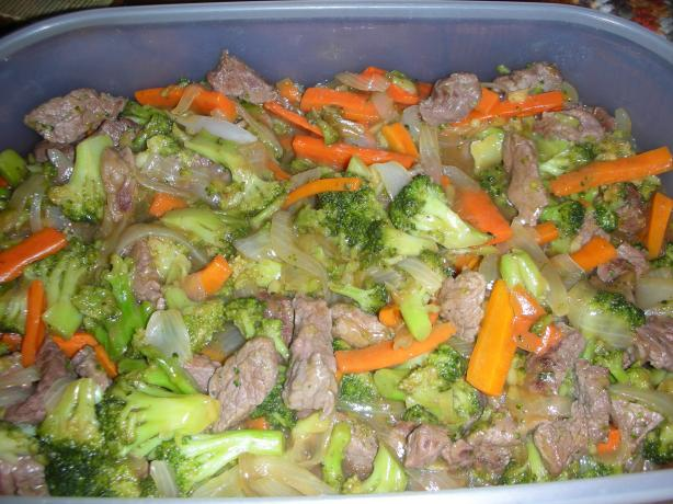Low Carb Beef and Broccoli Stir Fry. Photo by JackieOhNo!