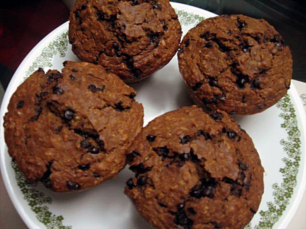 Molasses Oatmeal Chocolate Chip Muffins. Photo by Shasha