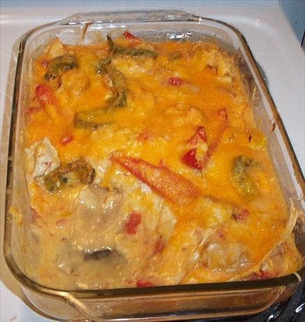 Chicken Fajita Casserole. Photo by Chef #169499