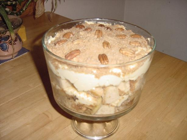 Toffee Apple and Honey Trifle. Photo by TheDancingCook