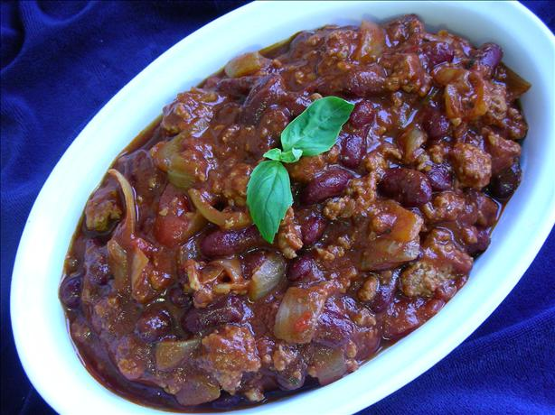 The Best Chili You Will Ever Taste. Photo by kiwidutch
