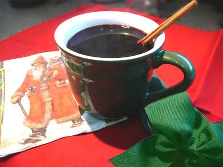 Alpine Hot Spiced Wine. Photo by Mikekey